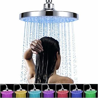 גשם עכשווי מקלחת כרום תכונה - גשם / הוביל / מקלחת, ראש מקלחת
