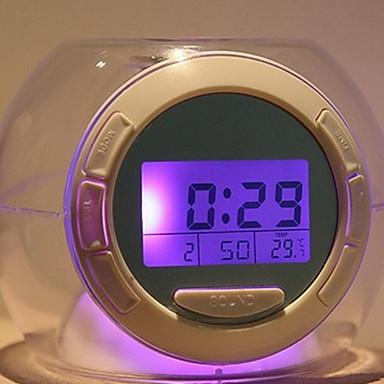efc94d0bd ساعة حائط ساعة لسطح الطاولة الحديث المعاصر بلاستيك غير منتظم