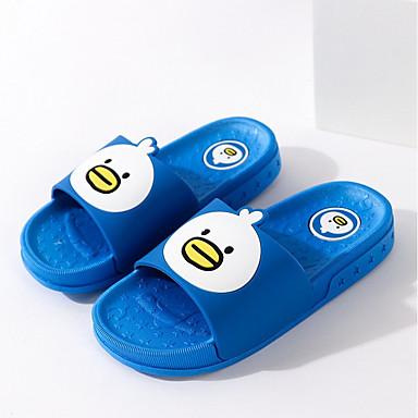 hesapli Kız Çocuk Ayakkabıları-Genç Erkek / Genç Kız PVC Terlik & Flip-flops Bebek (9 milyon 4ys) / Küçük Çocuklar (4-7ys) Rahat Mavi / Pembe Yaz