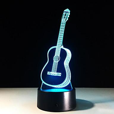 גיטרה אור לבן לילה לבן<= 36 v =