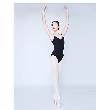 בלט בגדי גוף בגדי ריקוד נשים הדרכה / הצגה תערובת כותנה מפרק מפוצל ללא שרוולים / סרבל תינוקותבגד גוף