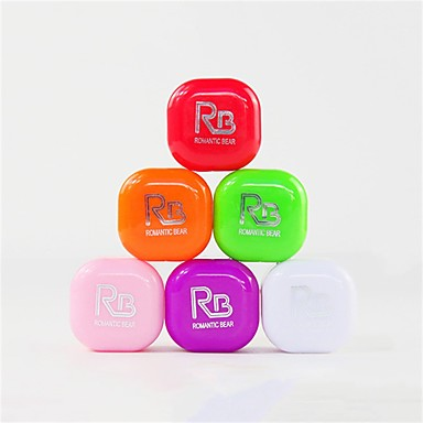 1 pcs 6 צבעים איפור יום נייד / קל לנשיאה / קל לשימוש רטוב לחות / יום יומי\קז'ואל פשוט / אופנתי להשלים קוֹסמֵטִי חומרי טיפוח