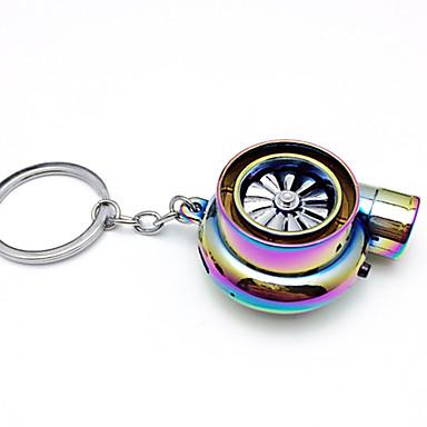 voordelige Autohangers & Ornamenten-creatieve elektrische turbo aansteker sleutelhanger usb oplaadbare sigarettenaansteker sleutelhanger met led licht en geluid