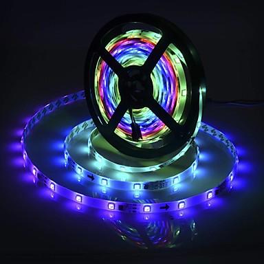 billige LED Strip Lamper-brelong smd5050 5m 300led epoksy vanntett lysstang 14 nøkkel infrarød kontroller med 5a strømforsyning