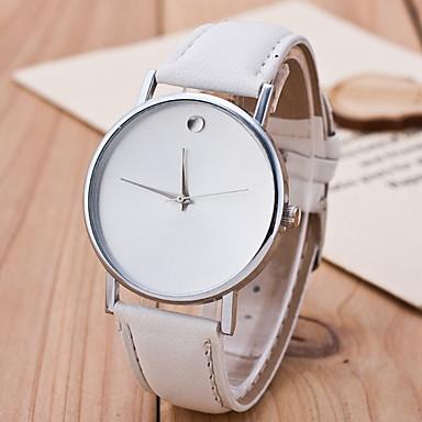 abordables Relojes Automáticos-Hombre envolver reloj Cuerda Automática Nuevo diseño Analógico Clásico - Blanco Negro Café