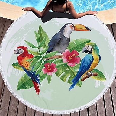 איכות מעולה מגבת חוף, חיה 100% פוליאסטר 1 pcs