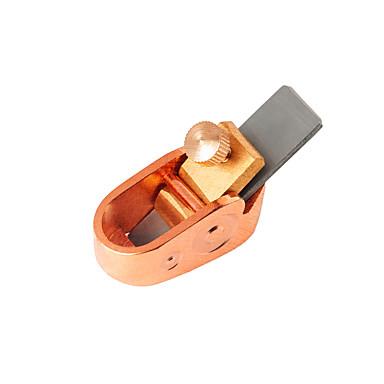 VT0908-190 אביזר כינור / כלי עבודה מתכת מצופה זהב כינור אבזרי כלי נגינה 4.1*1.9 cm