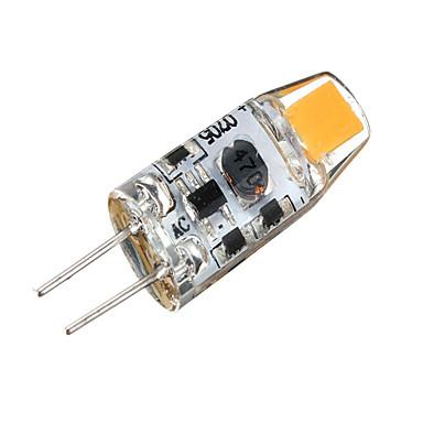 abordables Ampoules électriques-SENCART 1 W Ampoules Maïs LED 3000-3500/6000-6500 lm G4 T 2 Perles LED SMD 3014 Décorative Blanc Chaud Blanc Froid 12 V / 1 pièce / RoHs