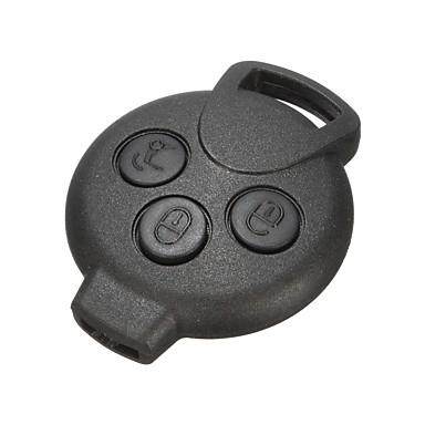 voordelige Auto-interieur accessoires-3 knop auto afstandsbediening sleutelhanger shell case voor 451 fortwo cabrio roadstar coupe