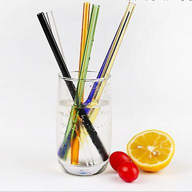 drinkware קש זכוכית חמוד יום יומי\קז'ואל