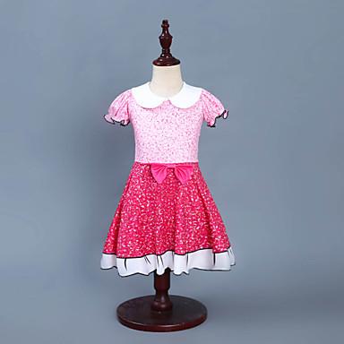 d794feca61367 Kids Toddler Girls' Active Street chic Patchwork Sleeveless Above Knee Dress  Blushing Pink