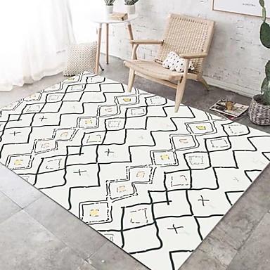שטח שטיחים צורות גיאומטריות polyster, מלבני איכות מעולה שָׁטִיחַ