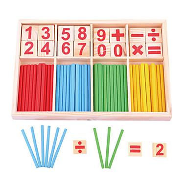 2d9410ddc LITBest مخفف الضغط نمط هندسي خشبي 1 pcs الطفل الجميع ألعاب هدية