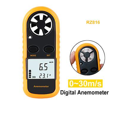 voordelige Test-, meet- & inspectieapparatuur-rz snelheid meetinstrumenten anemometer lcd digitale windsnelheid meter sensor draagbare 0-30m / s gm816 windsnelheid meter anemometer