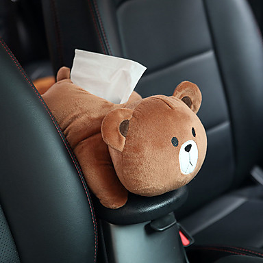 voordelige Auto-organizers-auto hangende stoel achter type auto schaduw blok cartoon schattige interieur auto-accessoires tissue doos