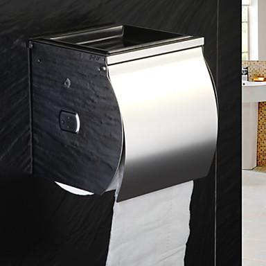 מחזיק נייר טואלט עיצוב חדש / מגניב מודרני פלדת על חלד מותקן על הקיר