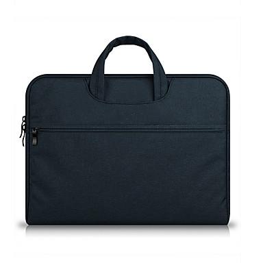 Недорогие Функциональные сумки-Молнии Чехол для ноутбука Сплошной цвет Сплошной цвет Нейлон Повседневные Коричневый / Морской синий / Хаки