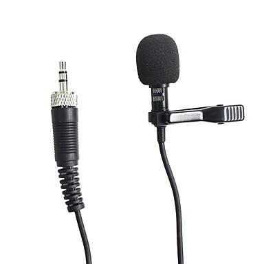 billige Mikrofoner-3.5mm mikrofon Trådløs kondensator mikrofon Klipp På Mikrofon Til Karaoke Mikrofon