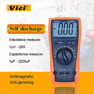 voordelige Test-, meet- & inspectieapparatuur-Zwitserland® vc9808 + elektrische multimeter handheld digitale display hoge precisie voor kantoor en lesgeven