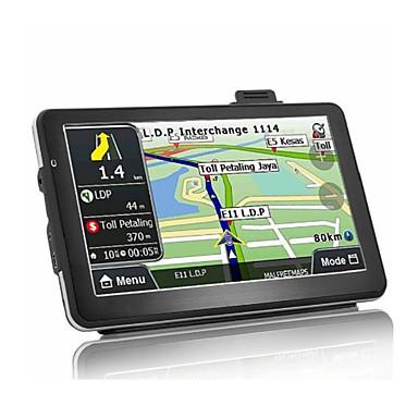 voordelige Automatisch Electronica-7 inch Android Quad Core 16GB Auto GPS navigatie zat navigator av-in Bluetooth wifi fm-zender bundel gratis kaarten