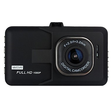cheap Car DVR-1080p Full HD Car DVR 170 Degree Wide Angle 3 inch LCD Dash Cam with Night Vision / G-Sensor / motion detection Car Recorder