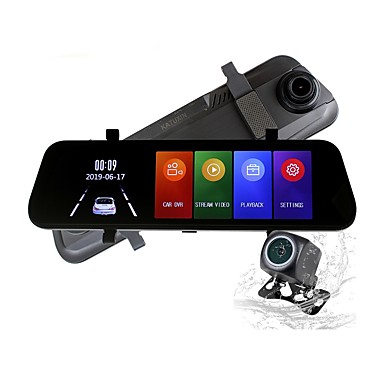 billige Bil-DVR-ziqiao h17k full HD streaming media bakspeil kjører opptaker 170 grader vidvinkel sprint kamera nattsyn g-sensor parkeringsovervåkning bilvideoopptaker