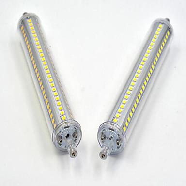 billige Elpærer-20 W LED-kornpærer 1200-1300 lm R7S Innfelt retropassform 144LED LED perler SMD 2835 Mulighet for demping Varm hvit Kjølig hvit 85-265 V / 1 stk. / RoHs / CE / CCC