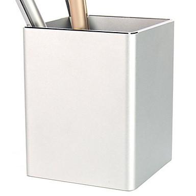 Metal Yaratıcı Ev organizasyon, 2pcs Kalem Tutucuları & Kılıflar