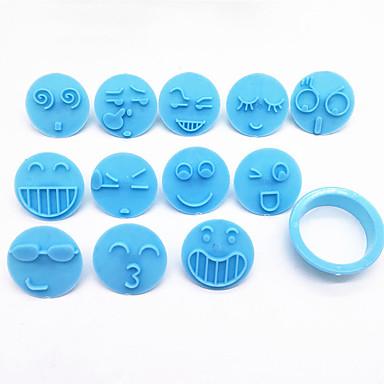 13pcs Plastik Yeni gelen Yaratıcı Kendin-Yap Kurabiye Cube Pasta Aletleri Bakeware araçları