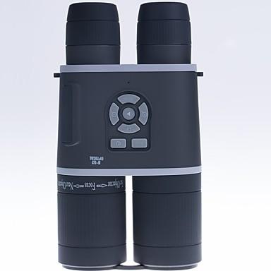 billige Kikkerter og teleskop-LITBest 8-32 X 52 mm Kikkerter LCD Skjerm Compass Nattsyn Fullstendig flerbelagt K9 Camping & Fjellvandring Utendørs Trening Jakt og fiske Silikon Gummi Spectralite ABS + PC