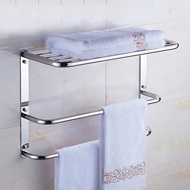 Banyo Rafı Yaratıcı Çağdaş Paslanmaz Çelik 1pc - Banyo Duvara Monte Edilmiş