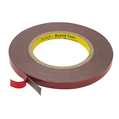 billige belysning Tilbehør-kwb dobbeltsidig tape 3mm heavy duty montering tape vanntett skum tape 5m lengde 10mm bredde for led strip lys hjem design kontor dekor