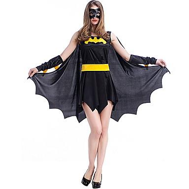 Yarasalar Kostüm Kadın's Peri Masalı Teması Cadılar Bayramı Performans Kostümler Kadın's Dans kostümleri Polyester Malzeme Kombini