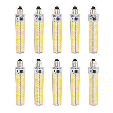 billige Elpærer-10pcs 5 W LED-kornpærer 1000-1200 lm E12 T 136 LED perler SMD 5730 Mulighet for demping Dekorativ Varm hvit Kjølig hvit 220 V 110 V