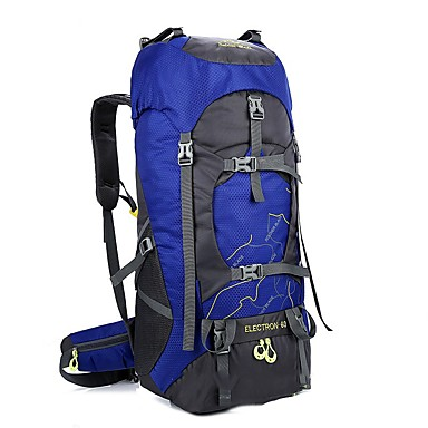 80396f89b3fd 60 L Hiking Backpack Rucksack Internal Frame Backpack Breathable ...
