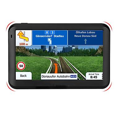 voordelige Automatisch Electronica-T600 5 inch fm gps 256 m 8 g windows ce 6.0 auto gps navigatie auto touchscreen gps navigatie audio video speler