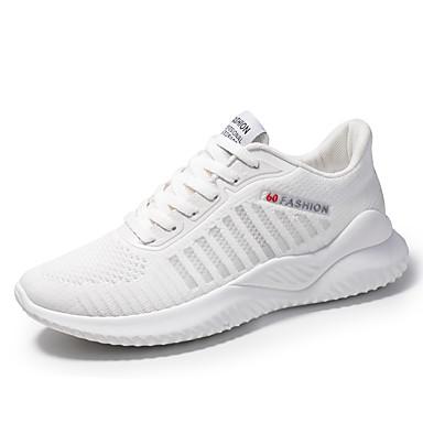 Erkek Ayakkabı Örümcek Ağı Yaz / Sonbahar Sportif / Günlük Atletik Ayakkabılar Koşu / Yürüyüş Atletik / Günlük için Siyah / Beyaz / Mavi