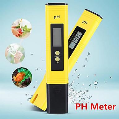 voordelige Test-, meet- & inspectieapparatuur-draagbare lcd digitale ph meter tester hulpmiddel wijn water zwembad aquarium pen ph