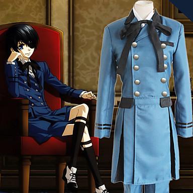 Inspirirana Crna Butler Ciel Phantomhive Anime Cosplay nošnje Japanski Cosplay Suits Jednobojni Dugih rukava Kravata / Shirt / Top Za Muškarci
