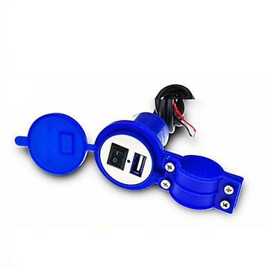 voordelige Automatisch Electronica-universele waterdichte 12V tot 5V 1.5A motorfiets slimme telefoon GPS USB-lader stroomadapter