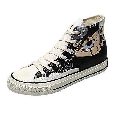 Erkek Ayakkabı Kanvas Yaz Klasik / Günlük Spor Ayakkabısı Yürüyüş Günlük / Dış mekan için Siyah