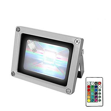 1pc 10 W LED Yer Işıkları Dekorotif RGB + Beyaz 85-265 V Açık Hava Aydınlatma / Avlu / Bahçe 1 LED Boncuklar