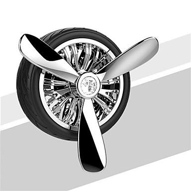 voordelige Auto-interieur accessoires-auto uitlaat ontluchting luchtverfrisser parfum geur auto decoratie bandvorm auto styling