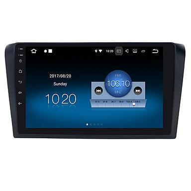 voordelige Automatisch Electronica-9 inch 1din Android 8.0 4GB 32GB Auto GPS Navigator Auto DVD-speler voor Mazda 3 2006-2012