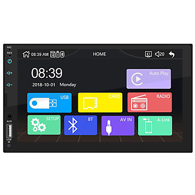 billige Bil Elektronikk-swm-x2 7 tommers windows ce bil mp5 spiller hd berøringsskjerm bil stereo radio usb-lenke for apple carplay