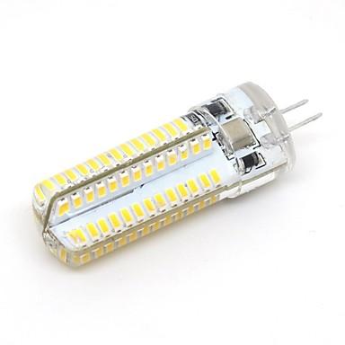 abordables Ampoules électriques-1pc 3 W Ampoules Maïs LED 270 lm G4 104 Perles LED SMD 3014 Décorative Adorable Blanc Chaud Blanc Froid 220-240 V 110-130 V