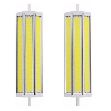 abordables Ampoules électriques-2pcs 25 W Tubes Fluorescents 2500 lm R7S T 1 Perles LED COB Intensité Réglable Design nouveau Blanc Chaud Blanc 220-240 V 110-120 V
