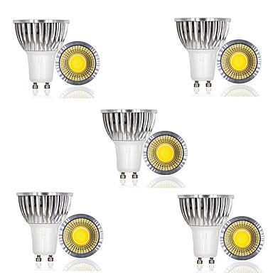 billige Elpærer-10pcs 3 W LED-spotpærer 250 lm GU10 1 LED perler COB Dekorativ Varm hvit Kjølig hvit 85-265 V
