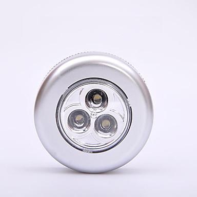 4adet Gece aydınlatması LED Beyaz AA Bataryalar Powered Acil / Çok güzel / Yaratıcı Piller Powered
