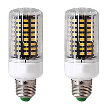 abordables Ampoules électriques-2pcs 10 W Ampoules Maïs LED 300 lm E14 GU10 B22 T 100 Perles LED SMD 5736 Design nouveau Blanc Chaud Blanc 85-265 V